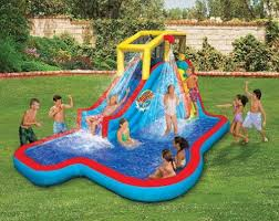 Inflatable Pool Slide From Top Box
