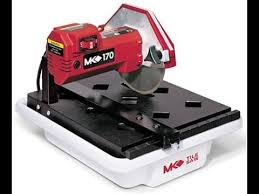 mk diamond 157222 mk 170 1 3 horsepower 7 inch bench wet tile saw