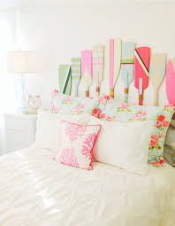 Beachy Headboards Beach Theme Guest Bedroom With Diy Wood by 20 Creative Headboard Decorating Ideas Nautical Style Pink