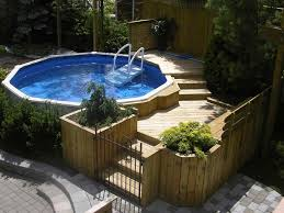 To Build A For S Diy Pallet Pool Deck Above Ground Kits How