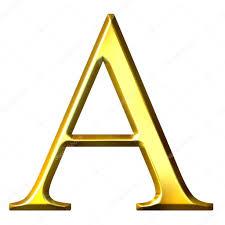3D Golden Greek Letter Alpha Stock Photo © Georgios 1395568
