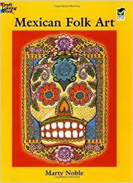 Mexican Folk Art Coloring Book Dover Design Books