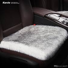 Karcle Car Seat Covers 6CM Long Plush Breathable Seat Cushion Car ... Quality Breathable Flax Fabric Car Seat Cushion Cover Crystal New Oasis Flotation Truck Specialists Silica Gel Non Slip Chair Pad For Office Home Cool Vent Mesh Back Lumbar Support New Universal Size Cheap Cushions Find Deals On Line At Silicone Massage Anti The Shops Durofoam 002 Chevy Tahoe Dewtreetali Beach Mat Sports Towel Fit All Wagan Tech Soft Velour 12volt Heated Cushion9438b