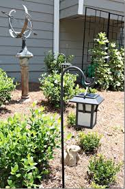 Outdoor Lantern Solar Lighting Southern Hospitality