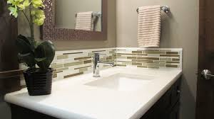 Tile Backsplash Behind Bathroom Sink - Fleurdelissf | Bathroom ... Unique Bathroom Vanity Backsplash Ideas Glass Stone Ceramic Tile Pictures Of Vanities With Creative Sink Interior Decorating Diy Chatroom 82 Best Bath Images Musselbound Adhesive With Small Wall Sinks Cute Inspiration Design Installing A Gluemarble Youtube Top Kitchen Engineered Countertops Lovely Incredible Appealing Remarkable Inianwarhadi