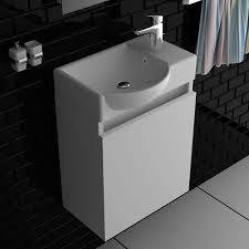 lugano 450 badmöbel waschbecken unterschrank 45cm