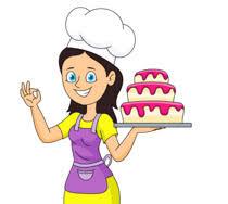 Baking clipart baker 2