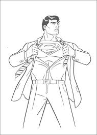 42 Superman Printable Coloring Pages For Kids Find On Book Thousands Of