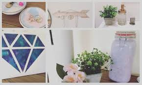 TUMBLR Inspired DIY Room Decor Ideas Clouds In A Jar Diamond Galaxy Canvas Marble Jewelry Plate