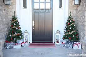 Pre Lit Entryway Christmas Trees by Christmas Home Tour Part 1 The Sunny Side Up Blog