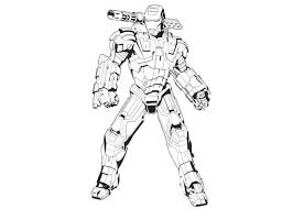 Free Iron Man Coloring Pages 38 Sheets Gianfreda Net