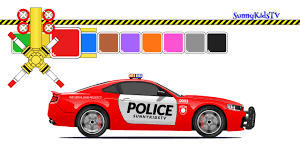 100 Videos Of Trucks Cars And For Kids Police Car Learn Colors