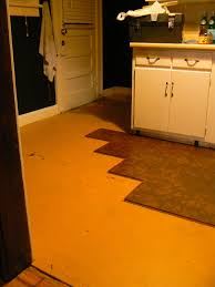 Can You Lay Ceramic Tile Over Linoleum by How To Install Floating Cork Floors Or How To Watch Someone Do