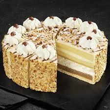 unsere prachtstücke classics nuss sahne torte