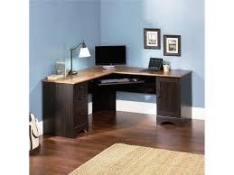 Black Glass Corner Computer Desk by Computer Desks Rolling Computer Desk Modern L Shaped Desk