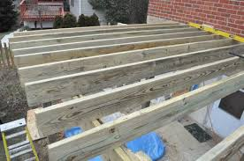Floor Joist Spans For Decks by How To Build A Deck With 120 Pics Diagrams Pro Tips U0026 Helpful