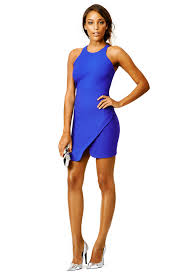 blue streak dress by elizabeth and james for 70 85 rent the