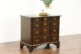 Birdseye Maple Serpentine Dresser by Dressers Chest Sink Vanities Harp Gallery Antique Furniture
