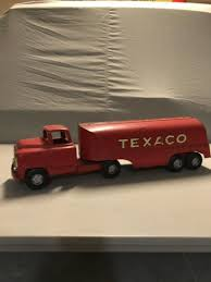 100 Toy Tanker Trucks VINTAGE BUDDY L TEXACO TOY TANKER TRUCK PRESSED STEEL 1950s 24in