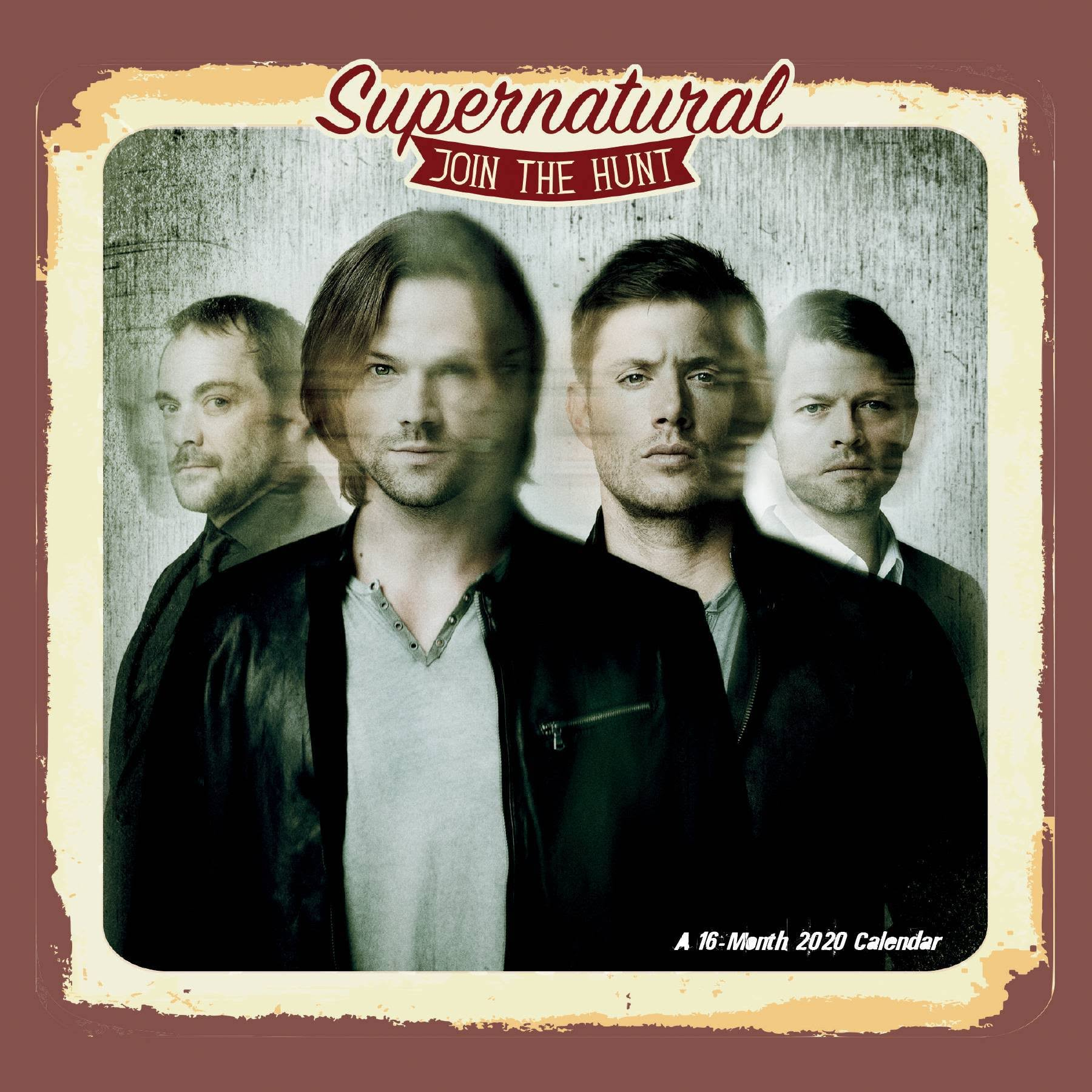 Trends International Supernatural 2020 Mini Wall Calendar