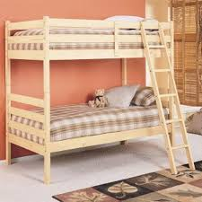 Wood For Building Bunk Beds by How To Build A Wood Bunk Bed Hunker