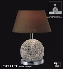 Square Crystal Lamp Finials by Crystal Ball Table Lamp Shade Best Inspiration For Table Lamp
