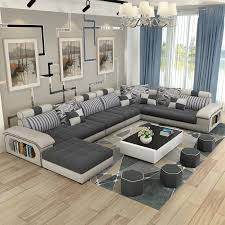 Cheap Couches For Living Room Buy Quality Design Couch Directly From China Suppliers Furniture Modern U Shaped Fabric Corner