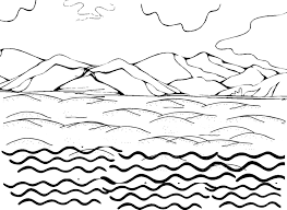 Water Coloring Pages Trafic Boosterbiz Downloads Online Page