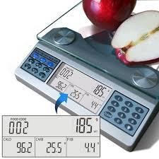 Eatsmart Digital Bathroom Scale Uk by Eatsmart Digital Nutrition Scale Professional Food And Nutrient