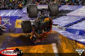 100 Monster Truck Backflip Sonuva Digger And Hot Wheels Take East Rutherford Jam