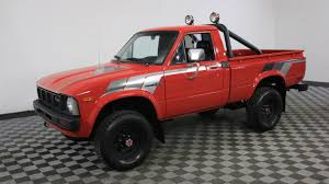 100 1980 Toyota Truck For Sale 1981 TOYOTA PICKUP RED YouTube