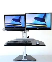 Multiple Monitor Standing Desk by Well Turned Kangaroo Standing Desk For House Design U2013 Trumpdis Co