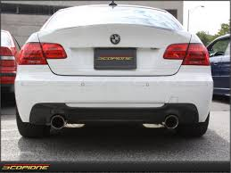 100 Dual Exhaust For Trucks BMW 3 Series MTech Carbon Fiber Bumper Diffuser E92