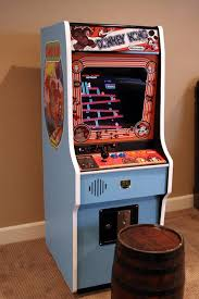 mini donkey kong arcade cabinet machine with vertical hyperspin