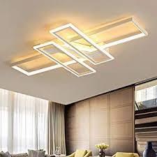 wohnzimmerle modern led decke dimmbar acryl lenschirm