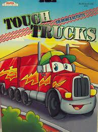 100 Tough Trucks Amazoncom Kappa Coloring And Activity Book 96 Pg