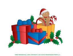 Gift clipart xmas presents