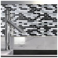 Peel And Stick Glass Subway Tile Backsplash by Self Stick Glass Backsplash Tiles Tags Fabulous Peel And Stick