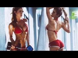 Anllela Sagra Fitness Model Back workouts and Shoulder Workouts