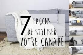 plaid sur canapé inspiration 7 façons de redonner du style à votre canapé avec un