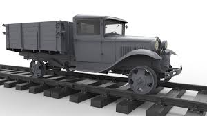 1,5 Ton Railroad Truck AA Type MiniArt 35265