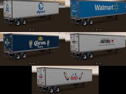 Skins Trailers Mexico-USA Companies 1.2 Mod - American Truck ... Truck Trailer Transport Express Freight Logistic Diesel Mack Two Semi Tractor Trucks With Trailers At A Truckstop On Inrstate Volvo For Sale Commercial 888 8597188 Yellow Peterbilt And Reefer Thermo King Show Of Truck Beamng Drive Alpha Pickup Truck Trailer Small Island Usa Fuel Tank 10 Ats American Simulator Mod Rc Semi Tamiya With Dickie Linde H40 Fork Lift Skins Trailers Mexicousa Companies 12 Chicago Illinois Usa May 3 2014 Stock Photo 213470983 Shutterstock Android Ios Youtube Double Box