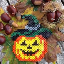 Halloween Perler Bead Templates by 346 Best Perler Bead Halloween And Fall Images On Pinterest