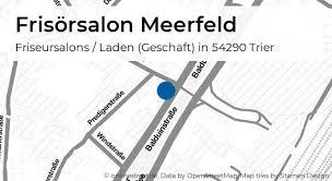 frisörsalon meerfeld balduinstraße in trier innenstadt
