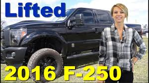 LIFTED 2016 Ford F-250! Blacked Out! Black Ops Edition By Tuscany On ...