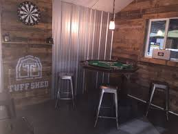 Tuff Shed Cabin Interior by Design A Man Cave Worthy Of A Grunt Tuff Shed