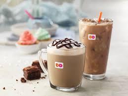 Large Pumpkin Iced Coffee Dunkin Donuts by Dunkin U0027 Donuts New Latte Tastes Just Like Brownies