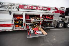 Yakima Ladder Truck Is 62 Feet Of Firefighting Agility | Local ... Fire Trucks Responding With Air Horn Tiller Truck Engine Youtube 2002 Pierce Dash 100 Used Details Andy Leider Collection Why Tda Tractor Drawn Aerial 1999 Eone Charleston Takes Delivery Of Ladder 101 A 2017 Arrow Xt Ashburn S New Fits In Nicely Other Ferra Pumpers Truck Joins Fire Fleet Tracy Press News Tualatin Valley Rescue Official Website Alexandria Fireems On Twitter New Tiller Drivers The Baileys Cssroads Goes In Service Today Fairfax Addition To The Family County And Department