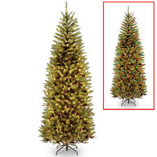Fraser Fir Artificial Christmas Tree by Christmas Tree With Colored And White Lights Roselawnlutheran