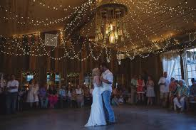 Barn Lights String Wedding Dance Hall